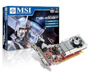 MSI N9400GT-MD512(Low Profile) (NDIVIA Geforce 9400GT, 512MB, 128-bit, GDDR2, PCI Express x16 2.0)