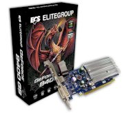 ECS N8400GS2-512DS-H (NVIDIA GeForce 8400GS, 512MB, 64-bit, GDDR2, PCI Expressx16) 2.0