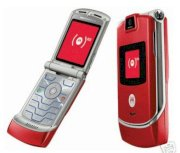 Motorola RAZR V3 Red