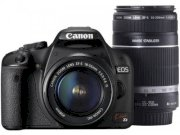 Canon Kiss X3 (EOS 500D / Rebel T1i) (EF-S18-55mm F3.5-5.6 IS, EF-S55-250mm F4-5.6 IS) Dual Lenses Kit