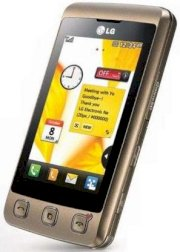 LG KP500 Cookie Gold