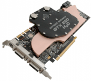BFG NVIDIA GeForce GTX 280 H2O (NVIDIA GeForce GTX 280, 1GB, 512-bit. GDDR3, PCI Express x16 2.0) Water Cooling Solution