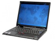 IBM Thinkpad T42 (2373–4WU) (Intel Pentium M 735 1.7GHz, 512MB RAM, 40GB HDD, VGA ATI Radeon 7500, 14.1 inch, Windows XP Home)