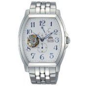 Orient Men's Power Reserve Skeleton White Automatic Watch #CFHAA001W