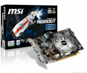 MSI N220GT-MD512 (NVIDIA GeForce GT 220, 512MB, GDDR2, 128bit, PCI Express x16 2.0)