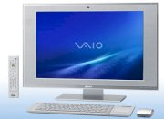 Máy tính Desktop Sony Vaio LV Series VGC-LV150DJ (Intel Core 2 Duo E7200 2.53GHz, RAM 4GB, HDD 500GB, VGA NVIDIA GeForce 9300M GS, 24 inch, Windows Vista Home Premium)
