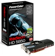 PowerColor PCS+ HD5850 1GB GDDR5 (AX5850 1GBD5-PPDH) (ATI RADEON HD 5850, 1GB, GDDR5, 256-bit, PCI Express 2.1 x 16)