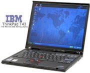IBM Thinkpad T42 (Intel Pentium M 735 1.7Ghz, 512MB RAM, 80GB HDD, VGA ATI Radeon X300, 14.1 inch, Windows XP Professional)