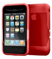 iSkin Cover Apple iPhone 3G 3GS revo2 Red