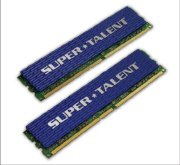 Super Talent Unbuffered (T1000UX2G4) - DDR2 - 2GB (2x1GB)- bus 1000MHz - PC2 8000 kit
