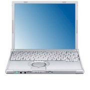 Panasonic Toughbook W8 (Intel Core 2 Duo SU9300 1.20GHz, 2GB RAM, 160GB HDD, VGA Intel GMA 4500MHD, 12.1 inch, Windows Vista Business)