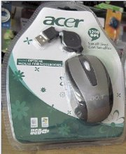 Acer Mini Optical Mouse For Notebooks