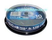 DVD+R Double Layer TDK 8,5G 8X