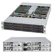 SuperServer 6026TT-TF (Intel Xeon 5600/5500, DDR3 Up to 48GB, HDD 3x Hot-swap SATA Drive Bays)