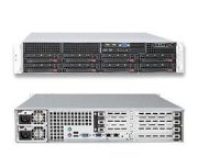 "SuperServer 6026T-6RFT+ (Intel Xeon 5600/5500, DDR3 Up to 192GB, HDD 8 x 3.5"")"