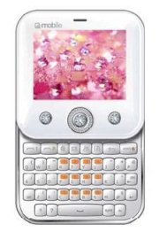 Q-Mobile SHE White