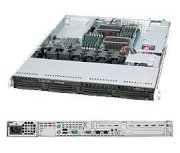 """SuperServer 6016T-UF (Intel Xeon 5500 series, DDR3 Up to 96GB, HDD 4 x 3.5"""")"""