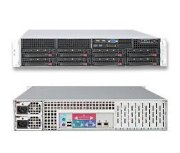 "SuperServer 6026T-URF (Intel Xeon 5600/5500, DDR3 Up to 96GB, HDD 8 x 3.5"")"