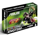 ASUS 512MB DDR3 GPU nVIDIA GeForce GT220  (ENGT220/DI/512MD3) ( NVIDIA GeForce GT 220 , 512MB, 128-bit ,GDDR3,PCI Express 2.0 )