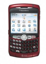 BlackBerry Curve 8320 Red
