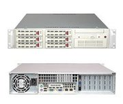 "Supermicro SuperServer 2U 5025M-4 (Beige) (Intel Pentium D/P4, DDR2 Up to 8GB, HDD 6 x 3.5"", 400W)"