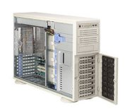Supermicro SuperServer 7045B-8R+ (Beige) (SC745S2-R800) (Dual Intel 64-bit Xeon Quad-Core or Dual-Core, Up to 64GB DDR2, 8x U320 SCSI HDD, 800W)