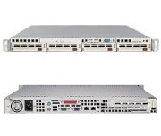 Supermicro SuperServer 5013C-M8 (Beige) ( Intel Pentium 4 up to 3.4GHz, RAM Up to 4GB, HDD 4 X 3.5 SCSI HotSwap, 300W )