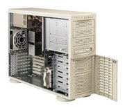Supermicro SuperServer 7042S-iB (Black) (Dual Intel Xeon 2.8 GHz, Up to 4GB DDR, 7 x IDE Drive Carriers, 420W)