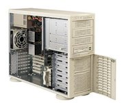 Supermicro SuperServer 7042S-i (Beige) (Dual Intel Xeon 2.8 GHz, Up to 4GB DDR, 7 x IDE Drive Carriers, 420W)