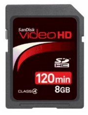 SANDISK VIDEO HD 8GB