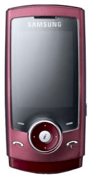 Samsung U600 Red