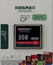 KingMax 80X Compact Flash CF Memory Card 2GB