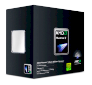AMD Phenom II X4 965 Black Edition Deneb (3.4GHz, 4 x 512KB L2 Cache 6MB L3 Cache, Socket AM3, 4000MHz FSB)