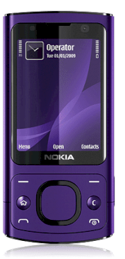 Nokia 6700 Slide Purple