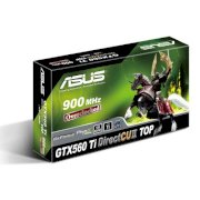 Asus ENGTX560 Ti DCII TOP/2DI/1GD5 (NVIDIA GeForce GTX 560 Ti, GDDR5 1GB, 256-bit,PCI Express 2.0)