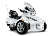 Can-Am Spyder RT Audio & Convenience 1.0 MT 2011