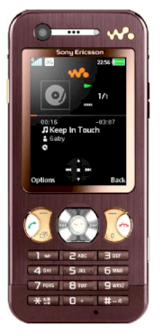 Sony Ericsson W890i Brown