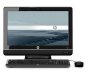 Máy tính Desktop HP Omni Pro 110 Business PC (ENERGY STAR) (XZ823UT) (Intel Core 2 Duo E7500 2.93Ghz, RAM 4GB, HDD 500GB, VGA Intel  GMA X4500, Màn hình LCD 20 inch, Windows 7 Professional 64)