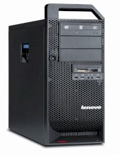 Lenovo ThinkStation S20 4105R9U Workstation (1 x Xeon W3550 3.06 GHz, RAM 4 GB, HDD 1 x 500 GB, DVD±RW (±R DL) / DVD-RAM, NVIDIA Quadro 2000 1GB, Windows 7 Pro 64-bit)