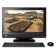 Máy tính Desktop HP TouchSmart 610-1188d Desktop PC (QP237AA) (Intel Core i7 2600 3.4Ghz, RAM 8GB, HDD 1TB, VGA ATI Radeon HD5570, LCD 23inch, Windows 7 Home Premium)