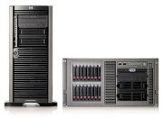 HP Proliant ML 110G6 (Non-hot) (510078-B21) (Intel Xeon Quard-core X3430 2.4GHz, RAM 2GB, HDD 500GB, VGA ATI 64MB VRAM, Power 300W)