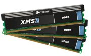 Corsair XMS3 (CMX12GX3M3A2000C9) - DDR3 - 12GB (3 x 4GB) - bus 1333MHz - PC3 10600 kit