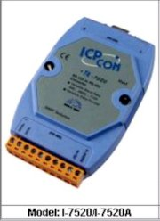 Isolated RS-232 to RS-422/485 Converter, ICP DAS modul I-7520A