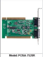 Isolated RS-232 to RS-485 Converter Card, ICP DAS (PCISA-7520R)