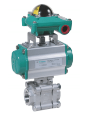 Kingdom KV-L81 3 PC 1500-2000 WOG Butt Welded End Ball Valve