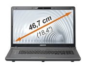 Medion Akoya P8613 (Intel Core i5-430M 2.26GHz, 4GB RAM, 320GB HDD, VGA ATI Radeon HD 5165, 18.4 inch, Windows 7 Home Premium 64 bit)