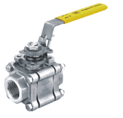 Kingdom KV-081F 3 PC 1500-2000 WOG Butt Welded End Ball Valve