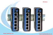 Switch Công Nghiệp 3ONEDATA 1 Cổng Quang + 4 Cổng Fast Ethernet