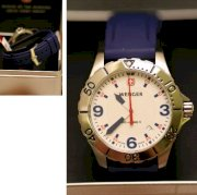 Đồng hồ đeo tay Wenger Swiss Army Blue Strap
