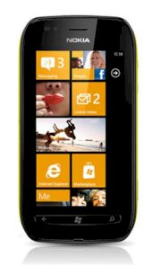 Nokia Lumia 710 (Nokia Sabre) Black Yellow